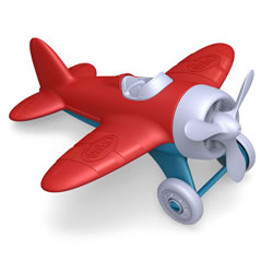 Airplane with Red Wings