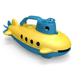 Submarine with Blue Handle