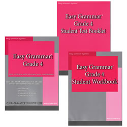 Easy Grammar Grade 4 Set