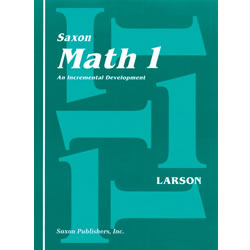 Saxon Math 1 Home Study Kit (First Edition)