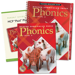 MCP Plaid Phonics Bundle - 1st Grade Level