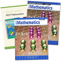 MCP Mathematics Homeschool Bundle Level C (Grade 3)