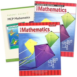 MCP Mathematics Homeschool Bundle Level D (Grade 4)