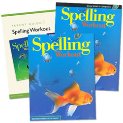MCP Spelling Workout Homeschool Bundle Level B (Grade 2)