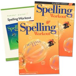 MCP Spelling Workout Homeschool Bundle Level D (Grade 4)