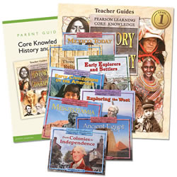 Core Knowledge History & Geography Homeschool Bundle (Grade 1)