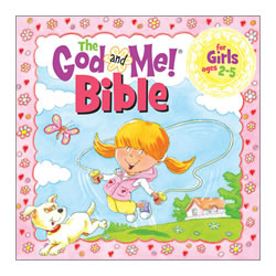 God and Me Bible For Girls (Ages 2-5)