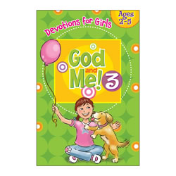 God and Me 3 Devotionals for Girls (Ages 2-5)