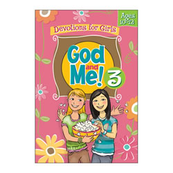 God and Me 3 Devotionals for Girls (Ages  10-12)