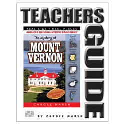 The Mystery at Mount Vernon Teacher's Guide