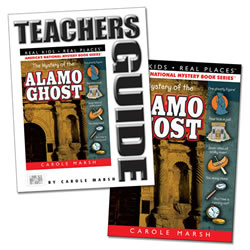 The Mystery of the Alamo Ghost & Teacher Guide Set