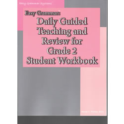 Easy Grammar Grade 2 Student Workbook
