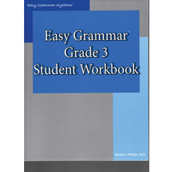 Easy Grammar Grade 3 Student Workbook