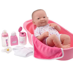 La Newborn® Deluxe Bath Doll Set