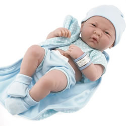 "La Newborn® 14"" Anatomically Correct Boy Doll"