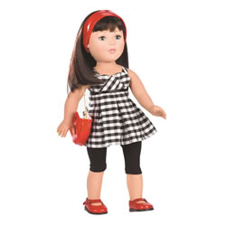 "Favorite Friends Party Perfect 18"" Doll"