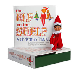 Elf on the Shelf® (Boy - Dark)