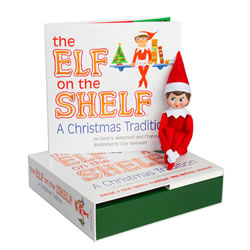 Elf on the Shelf® (Girl - Light)