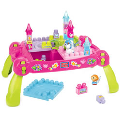 Mega Bloks First Builders Play 'n Go Fairytale Table