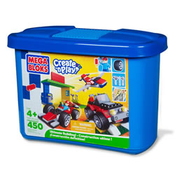 Mega Bloks Creat 'n Play Micro Blocks Ultimate Building Set