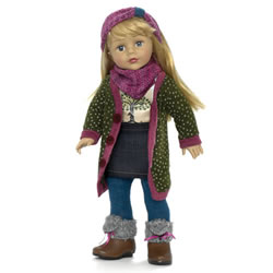 "Favorite Friends Sweater Dressing 18"" Doll"