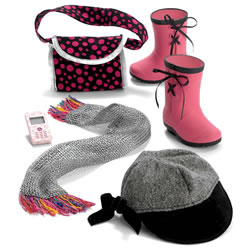 "Favorite Friends Head to Toe Accessory Pack for 18"" Play Doll"