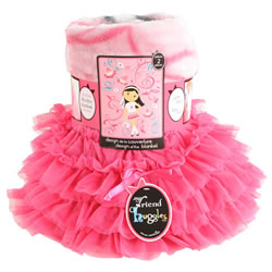 My Friend Huggles™ Blanket & Tutu Set - Bia