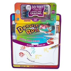 "6 "" Doodle Roll® with Writing Board"