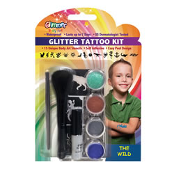 The Wild Glitter Tattoo Kit