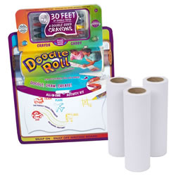 Doodle Roll® with Writing Board and Replacement Rolls Set