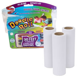 "6"" Doodle Roll® and Replacement Rolls Set"