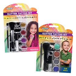Party Glitter Tattoo Set 2
