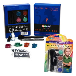 Party In A Box & Glitter Tattoo Set 2