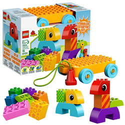 LEGO® DUPLO® Toddler Build and Pull Along (10554)