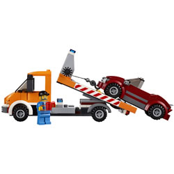 Lego City Flatbed Truck (60017)