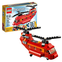 Lego Creator Red Rotors (31003)