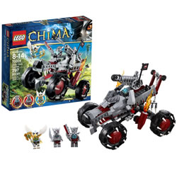 Lego Chima Wakz' Pack Tracker (70004)
