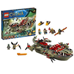 Lego Chima Cragger's Command Ship (70006)
