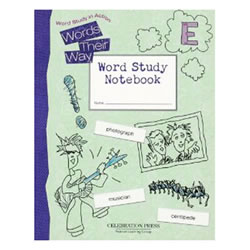 Words Their Way Student Workbook Level E (Grade 5)