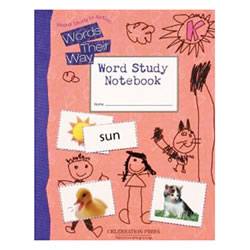 MCP Words Their Way Student Workbook Level K (Kindergarten)