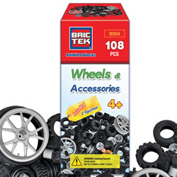 Brictek Building Blocks Wheels & Accessories