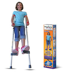Air Kicks Walkaroo Jr.  Balance Stilts Lightweight