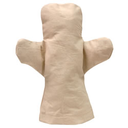Canvas Hand Puppet - Body