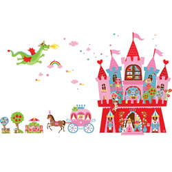 Princess Magnetic Wall Sticker