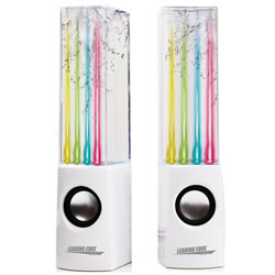 Water Dancing Speakers - White