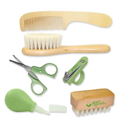Green Sprouts  Baby Care & Grooming Set