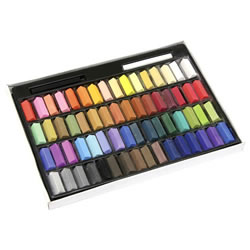Assorted Artist Pastels Set - Half-Sticks