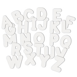 WonderForm Peel & Stick Upper Case Letters