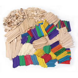 Wood Craft Activities Assortment