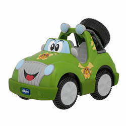 Safari Tracker Remote Control Car - Green